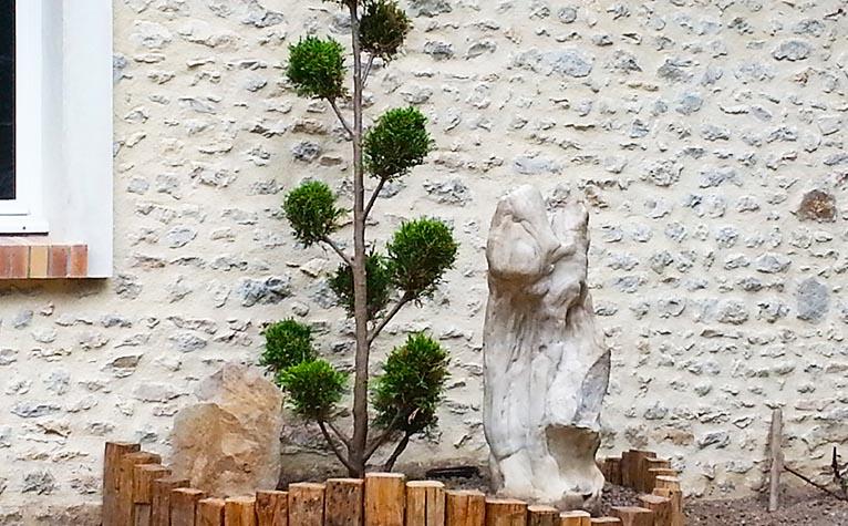 Créarbor - Paysagisme Orléans Toury Chaussy - Aménagement de jardin - Gazon et plantations
